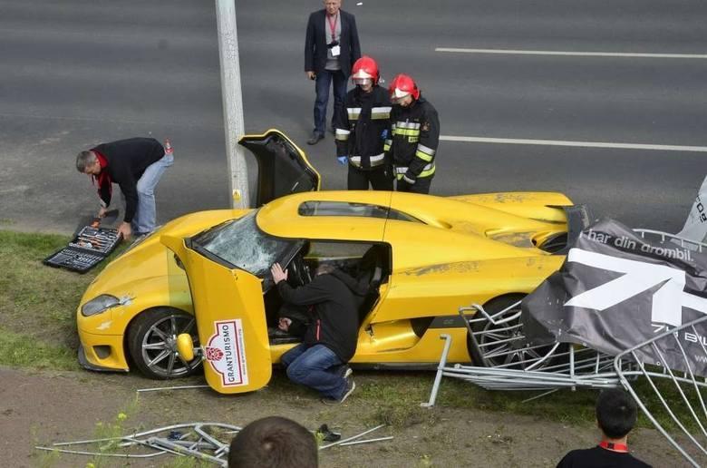 30 czerwca 2013 roku w Poznaniu podczas Gran Turismo Polonia jadący sportowym autem kierowca z Norwegii na ul. Hlonda stracił panowanie nad samochodem i z dużą prędkością wjechał w widzów. Ranił 20 osób. Jak sam przyznał - wykonał manewr, jakiego nie powinien się dopuścić.