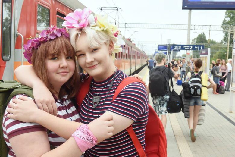 Codziennie odchodzą pociągi z zielonogórskiego dworca na Pol'and'Rock Festiwal. W środę 31 sierpnia pożegnaliśmy kolejnych uczestników.Festiwal zaczyna