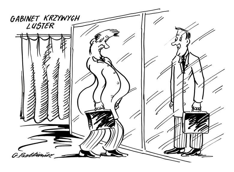 Cykl z humorem! Oto kolejna porcja satyrycznych rysunków autorstwa Grzegorza Pietkiewicza.Rys. www.grzegorz-pietkiewicz.pl