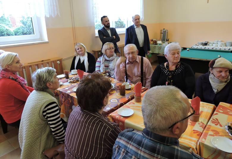 Laskowiec, gmina Rzekuń. Pierwsze spotkanie Klubu Seniora