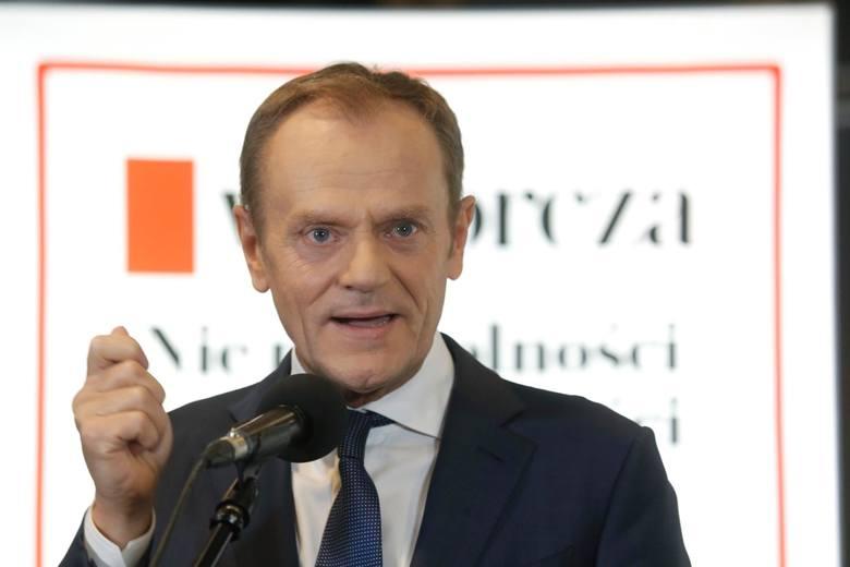 Tusk: Kidawa-Błońska to najlepsza kandydatka do konfrontacji z obecnym prezydentem