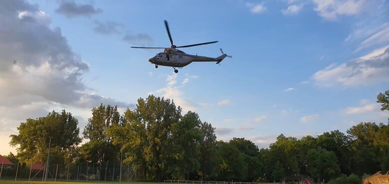 Gorlice. Policyjny helikopter w akcji. Czy doszło do porwania? [AKTUALIZACJA]
