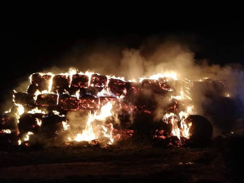 Strażacy z powiatu ostrowieckiego i opatowskiego, zarówno zawodowi jak i ochotnicy, przez całą noc z soboty na niedzielę walczyli z ogromnym pożarem
