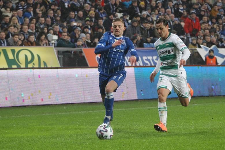23 lutego Lech w rundzie zasadniczej wygrał z Lechią przy Bułgarskiej 2:0 (0:0)