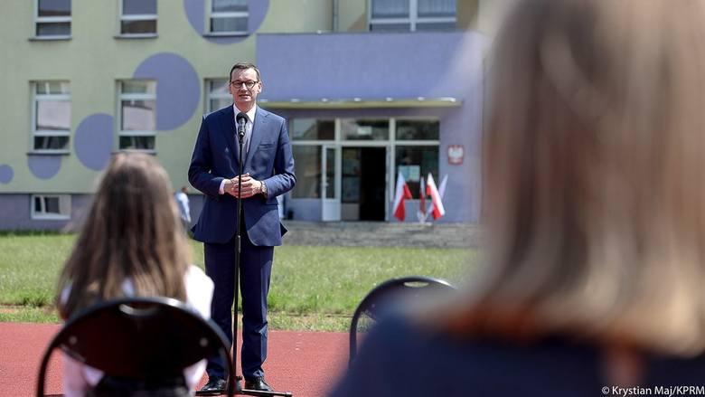 Pionki. Wizyta premiera Mateusza Morawieckiego w Publicznej Szkole Podstawowej numer 5!