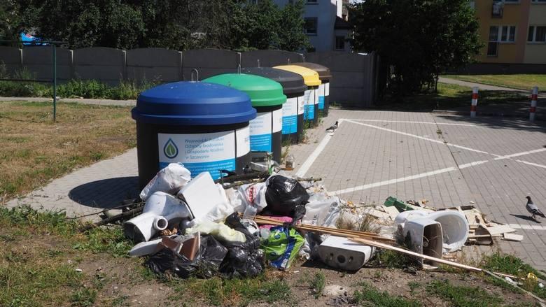 - To jakiś skandal! Od roku na naszym podwórzu stoją nowe pojemniki pozamykane na cztery spusty, a ludzie wyrzucają śmieci albo obok, albo do starych