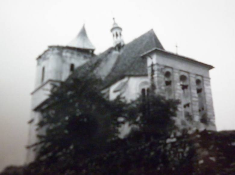 Jazłowiec 1939 r.  Ułani podczas koronacji figury Matki Boskiej.