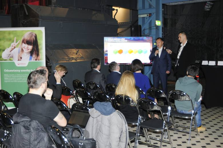 W czwartek 30 stycznia w Centrum Nauki i Techniki EC1 szefowie łódzkiej Veolii przedstawili etapy dekarbonizacji systemu ciepłowniczego Łodzi.