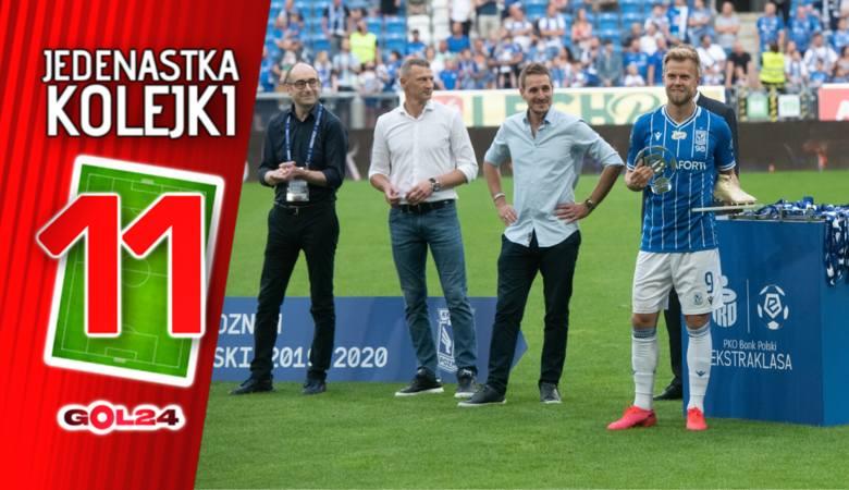 PKO Ekstraklasa. Za nami ostatnia kolejka w sezonie 2019/2020. Lech Poznań sięgnął w niej po tytuł wicemistrza Polski, Lechia Gdańsk uplasowała się tuż