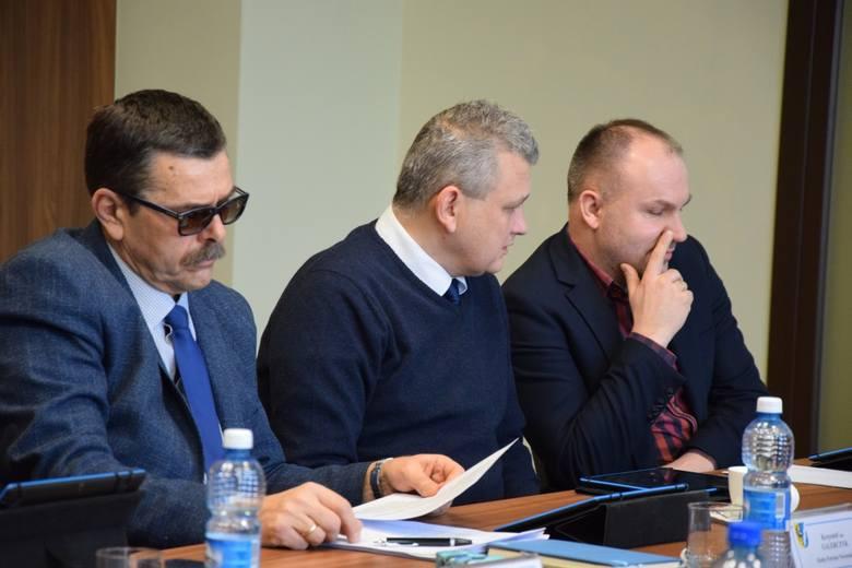 Sesja powiatu nowosolskiego, podczas której radni zgodzili się na kredyt pod hipotekę szpitala.<br /> 28 lutego 2020 r.