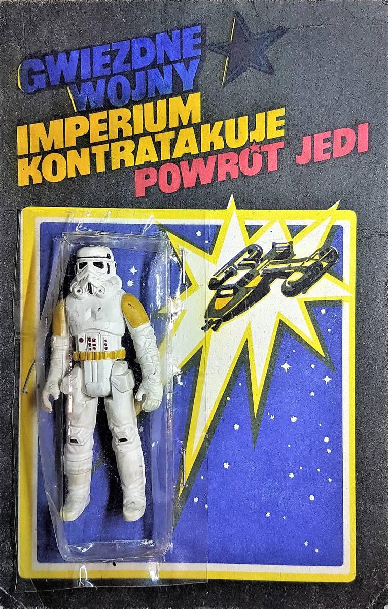 Gwiezdne wojny o PRL-owskie figurki z gumy