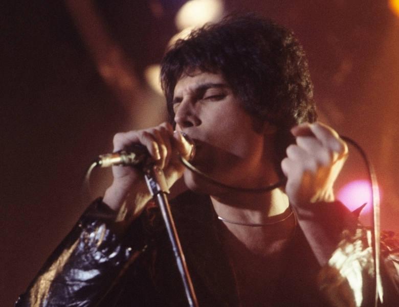 Freddie Mercury Freddie Mercury, uwielbiany przez tłumy wokalista grupy Queen, znany był ze swojej nieprawdopodobnej prezencji scenicznej. W ciągu swojego