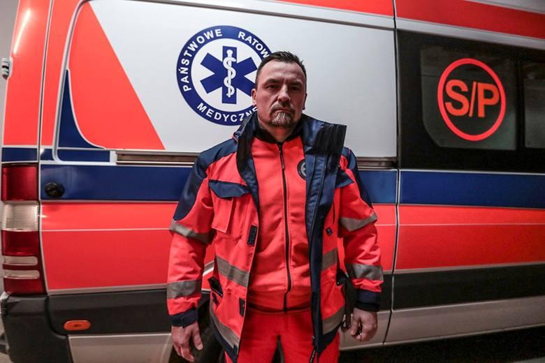 Maciej Klim, ratownik medyczny pogotowia ratunkowego