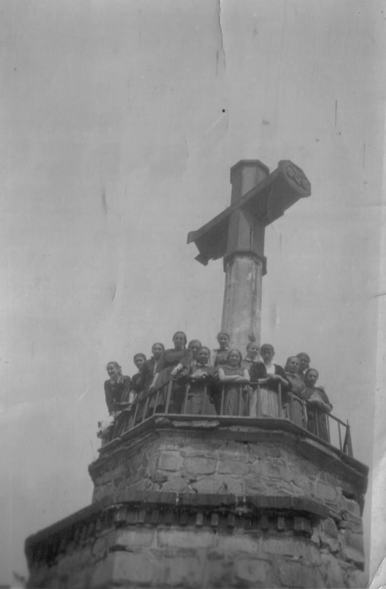 Krzyż na Górze Chełmskiej, czasy powojenne.