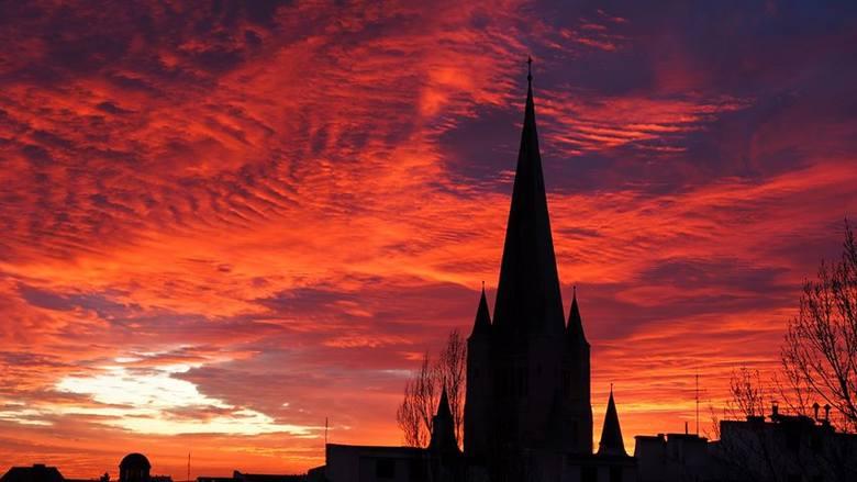 Czarujące niebo nad Wrocławiem [WASZE ZDJĘCIA]