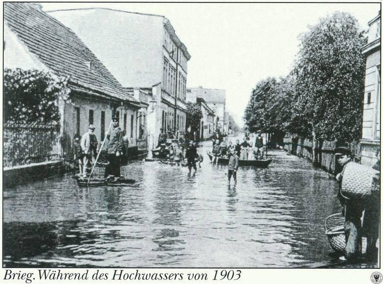 Powódź w 1903 roku w Brzegu