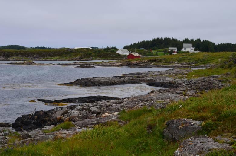 Atlantyckie wybrzeże Norwegii.