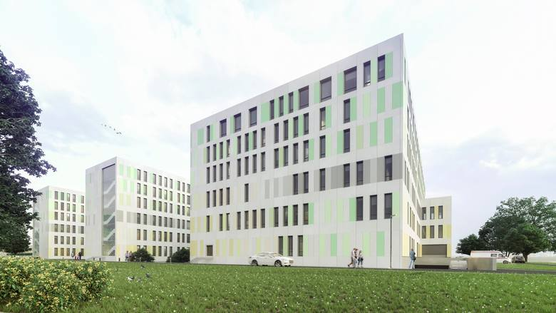 W nowym szpitalu ma znaleźć się także oddział rehabilitacyjny, na każdym piętrze będzie miejsce, gdzie dzieci będą mogły uczyć się i bawić.