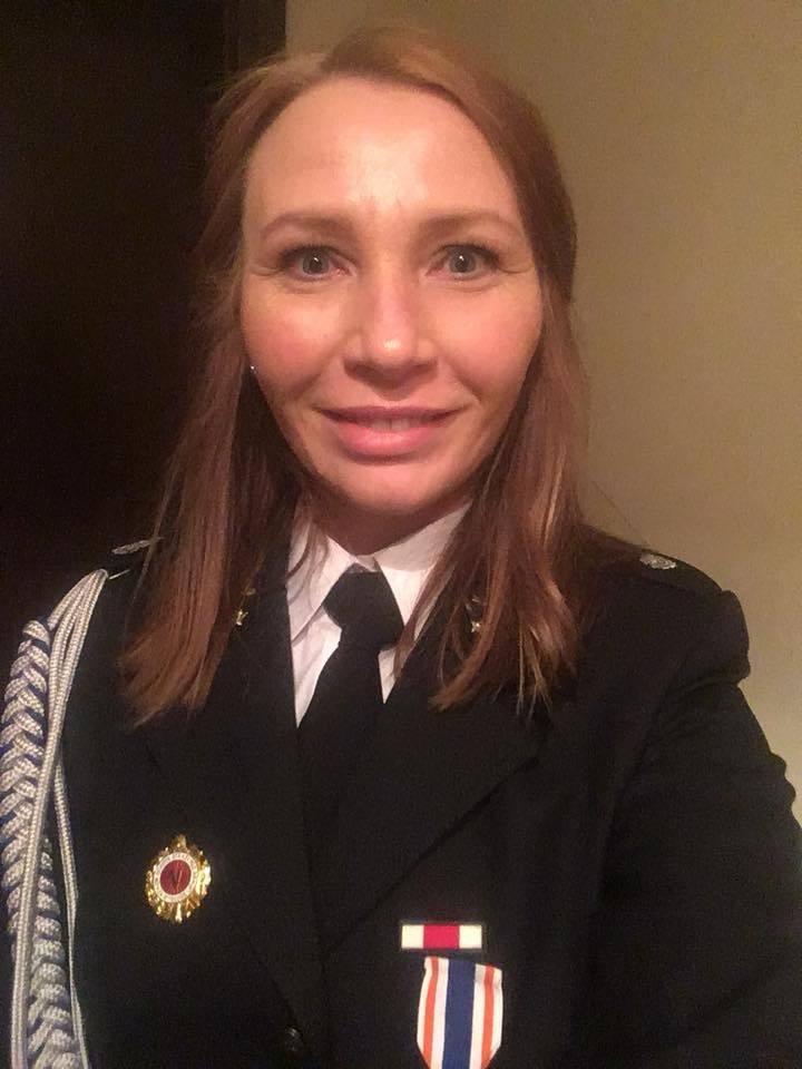 Monika Charłampowicz-Prezes Ochotniczej Straży Pożarnej w Brzegu Dolnym