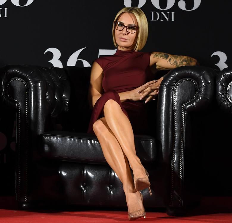 Pisarka Blanka Lipińska nie zatańczy i nie powalczy w MMA