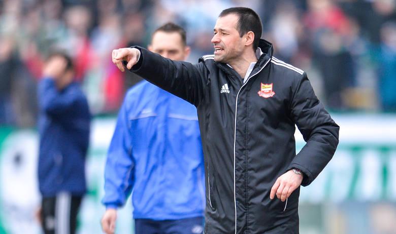 Mariusz Pawlak największe sukcesy trenerskie odnosił jako trener Chojniczanki. Oby podobnie było z Olimpią