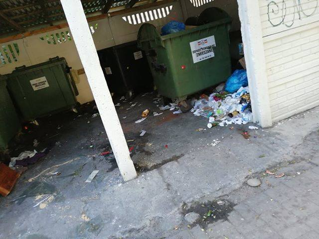 Problem ze śmieciami w Koszalinie. PGK: zarządcy nie podpisują umów na sprzątanie