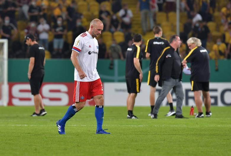Puchar Niemiec. Piłkarz HSV po meczu wszedł na trybuny i pobił kibica [WIDEO]