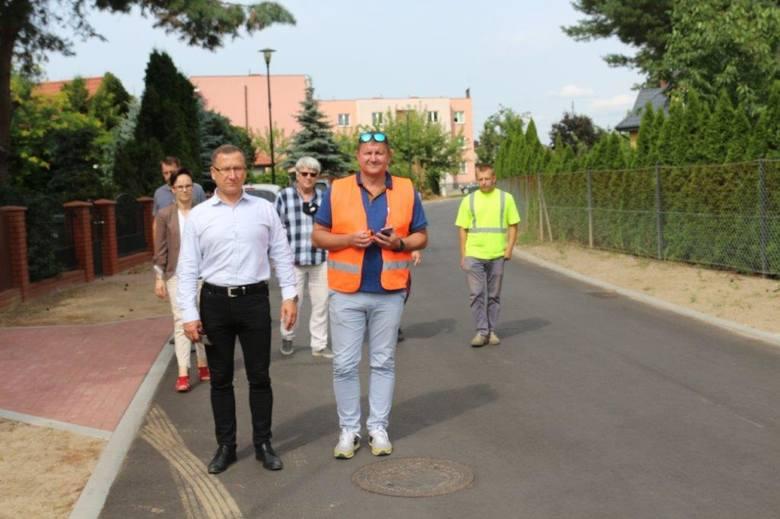Odbiór ulicy Miłej w Golubiu-Dobrzyniu