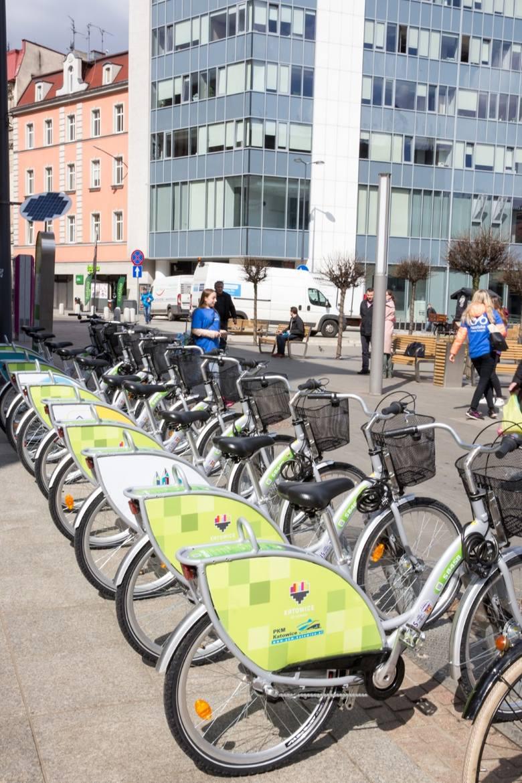 Rowery w Katowicach. 8 tys. wypożyczeń w maju