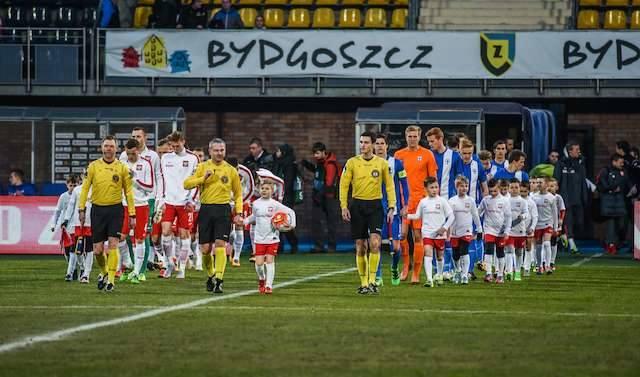 Piłka nożna  u-21 Polska - Finlandia 1-0Piłka nożna  u-21 Polska - Finlandia 1-0 stadion zawiszy