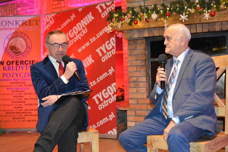 Andrzej Strejlau na gali Sportowca Roku 2018 Tygodnika Ostrołęckiego [ZDJĘCIA+WIDEO]