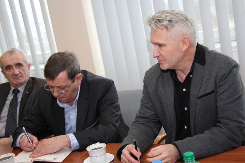 Piotr Jankowiak, Civitas Christina, przewodniczący oddziału w Zielonej Górze, Robert Czechowski, dyrektor Lubuskiego Teatru.