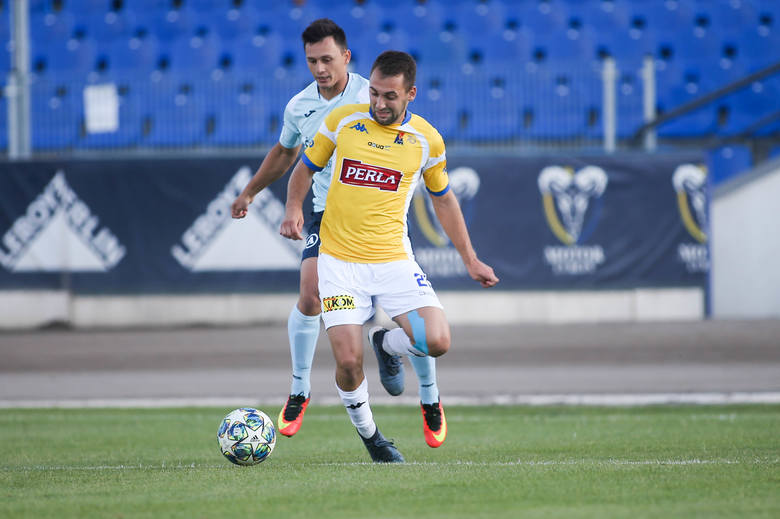 Motor Lublin - Avia Świdnik 1:0. Pucharowe derby na korzyść żółto-biało-niebieskich. Zobacz zdjęcia
