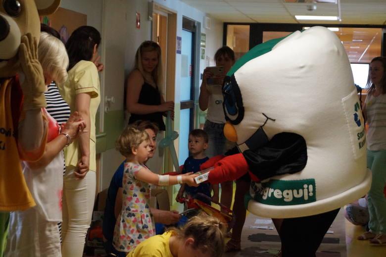 Ostrołęka. Ekologiczny Dzień Dziecka w szpitalu