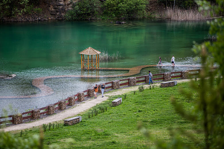 Polskie Malediwy czyli Park Gródek w Jaworznie zachwyca widokami na wiosnę.ZOBACZ WIĘCEJ ZDJĘĆ