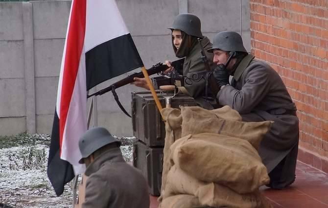 Inscenizacja odbyła się w Inowrocławiu, na terenie nowej stanicy kajakowo-żeglarskiej ZHR.