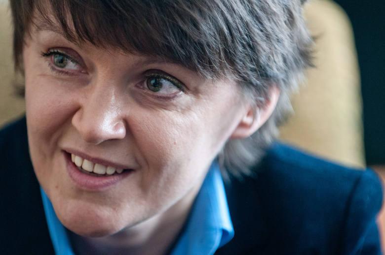 Dr Agnieszka Bryc, politolożka z UMK w Toruniu.