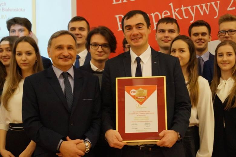II LO świętowało sukces w rankingu