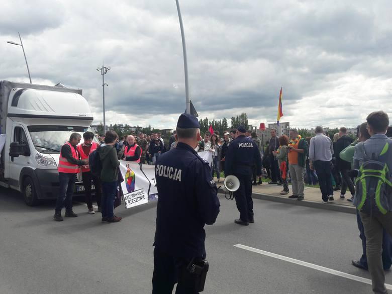 I Marsz Równości w Rzeszowie.