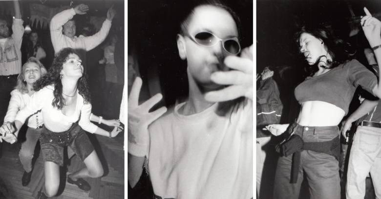 """W archiwum fotograficznym """"Nowości"""" odleźliśmy kopertę pełną zdjęć z zabaw, dyskotek i bali. Wszystkie zostały wykonane w latach 90.,"""