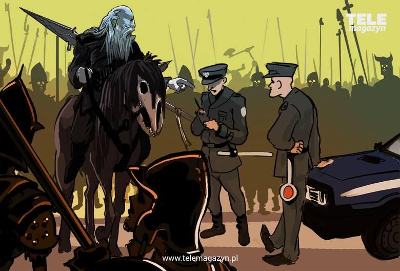 """Bohaterowie """"Gry o tron"""" w konwencji PRL. Tego jeszcze nie było!"""