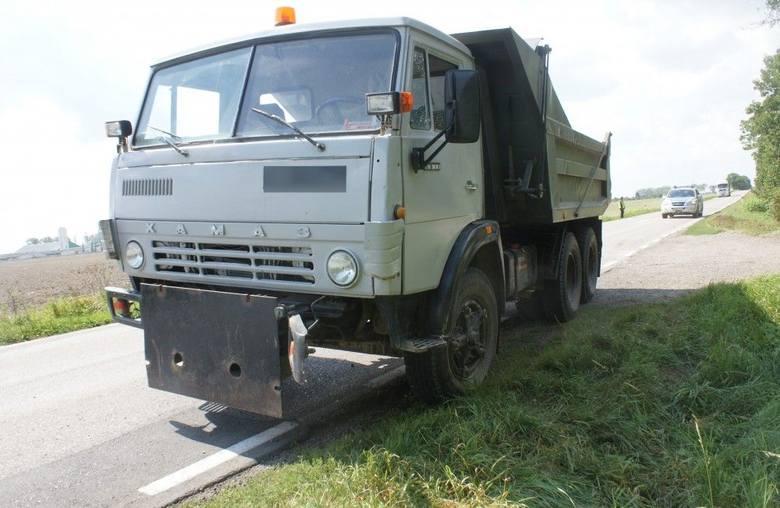 Wypadek karetki na trasie Bielsk Podlaski - Hajnówka (zdjęcia)