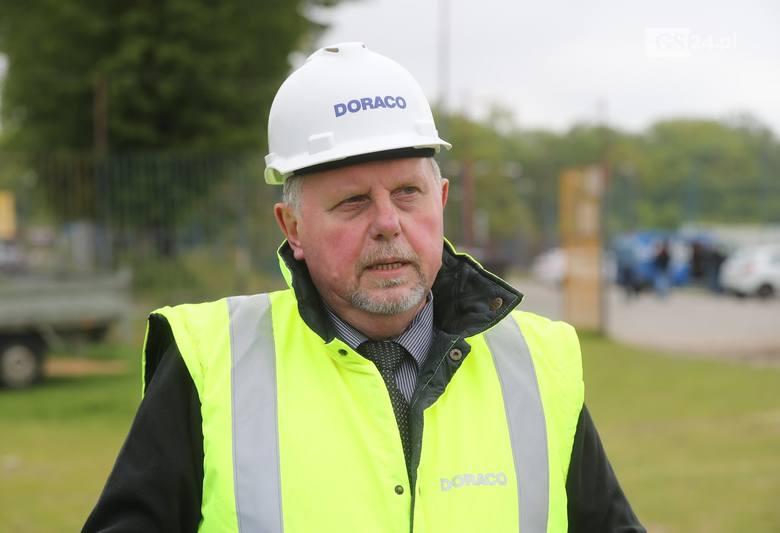 Tomasz Wiktorczyk, szef budowy