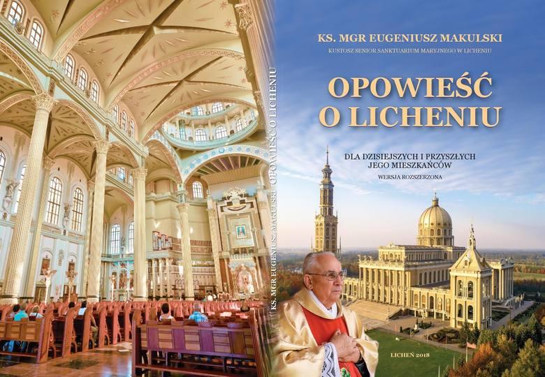 Okładka książki księdza Eugeniusza Makulskiego, w której umacnia mit dobrodusznego pasterza dbającego o swoją owczarnię.