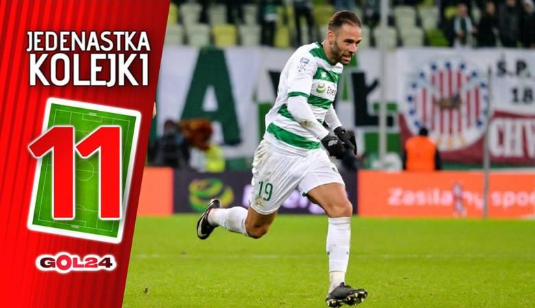 Jedenastka 16. kolejki Lotto Ekstraklasy według GOL24 [GALERIA]