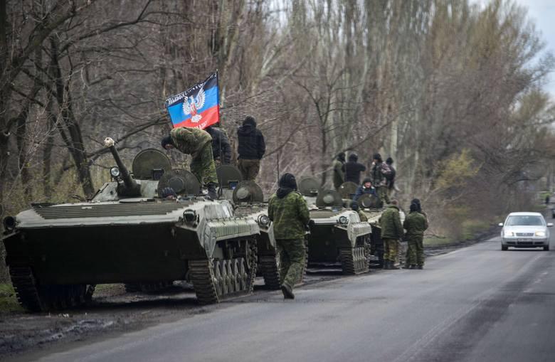 Separatyści w Donbasie