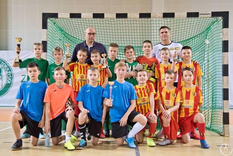 Z inicjatywy Dariusza Dziekanowskiego i firmy Probudex Łagów V na trójkach piłkarskich w Kielcach rywalizowali mistrzowie kategorii 2010, 2009, 2008