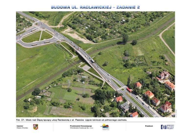 Wrocław: Przedłużą ulicę Racławicką, ale na most jeszcze poczekamy (WIZUALIZACJE)