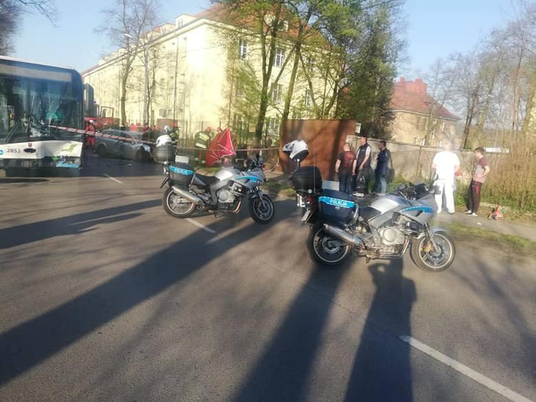 Śmiertelny wypadek na ul. Metalowej w Szczecinie