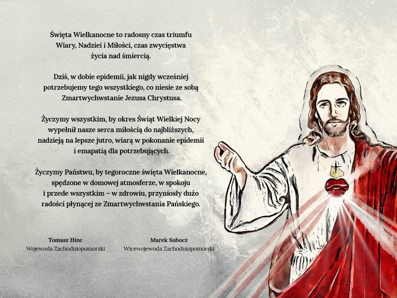 Życzenia Wielkanocne od arcybiskupa, prezydenta, marszałka i wojewody